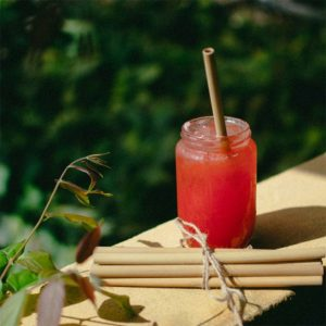 BAMBOO STRAWS TRAVEL KIT
