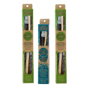 BAMBOO TOOTHBRUSH – GREEN MICRO FAMILY PACK