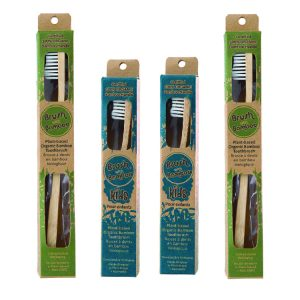 BAMBOO TOOTHBRUSH – GREEN FAMILY PACK