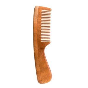Neem Wood Comb – Fine Tooth