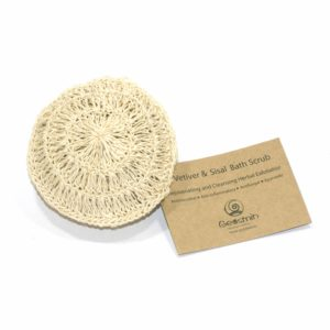 Vetiver and Sisal Bath Scrub