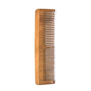 Neem Wood Comb – Fine and Wide teeth