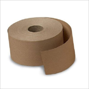 WATER ACTIVATED PAPER TAPE – REINFORCED